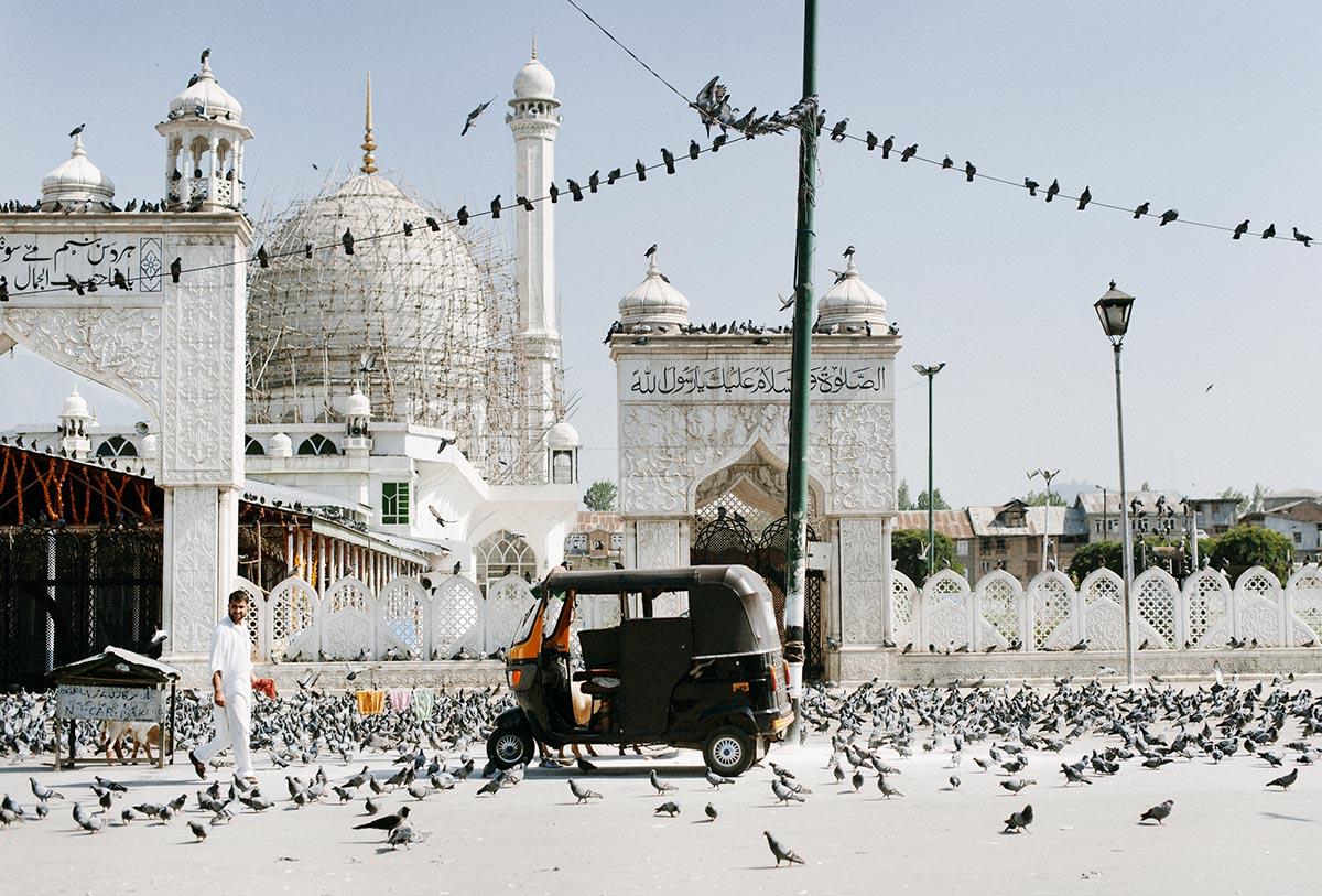 Hazratbal Mosque, Srinagar, Jammu & Kashmir, India