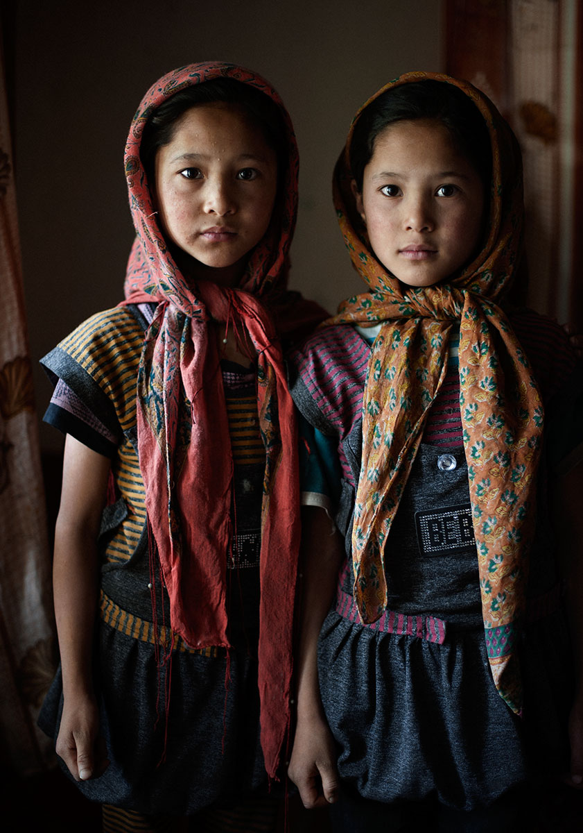 Shabana & Farzana, Turtuk, Ladakh, India